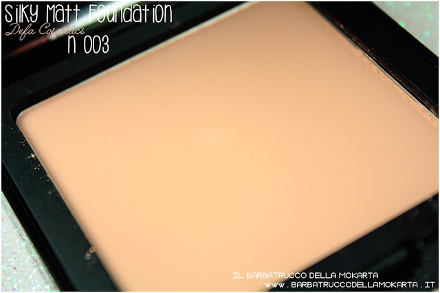 003 Silky Matt Foundations Defa Cosmetics Fondotinta vegan recensione