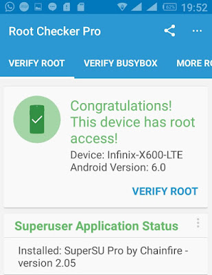 How To Root Infinix Note 2 x600 Running On Marshmallow 6.0 OS