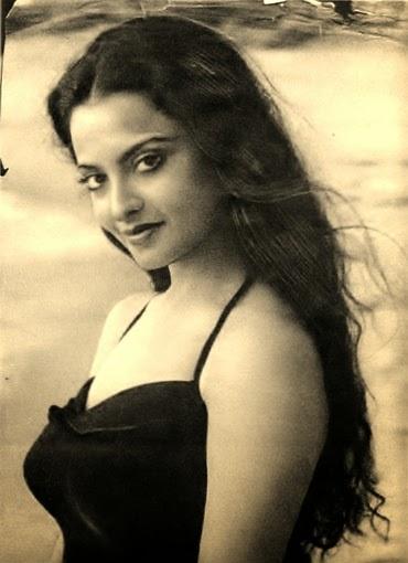 , Rekha in Bikini