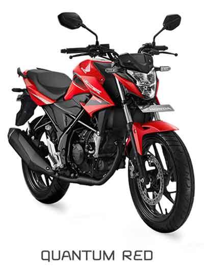 All New Honda CB150R Quantum Red