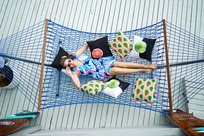 Hammock, beach house decor, Refinery 29, Beach house, Krista Robertson, Covering the Bases