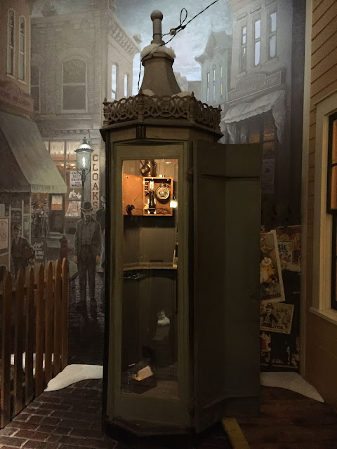 Check out the turn-of-the-century phone booth at the Milwaukee Public Museum