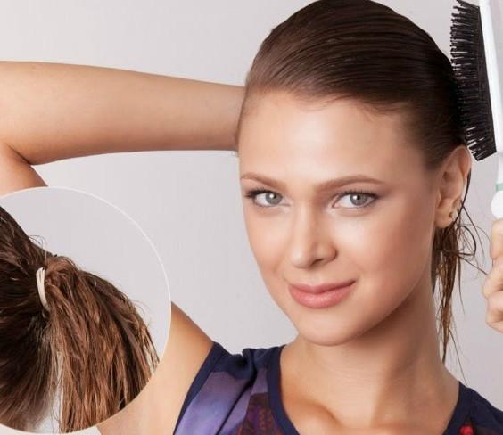prender cabelo molhado faz mal