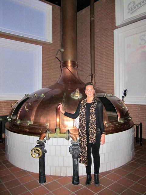 Staropramens bryggeri i Prag