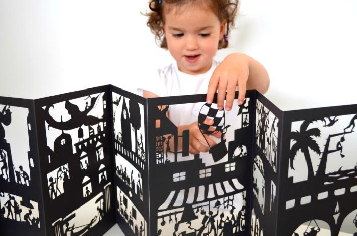 cuentos sorprendentes para fomentar la lectura, hacer sombras libro Excentric cinema