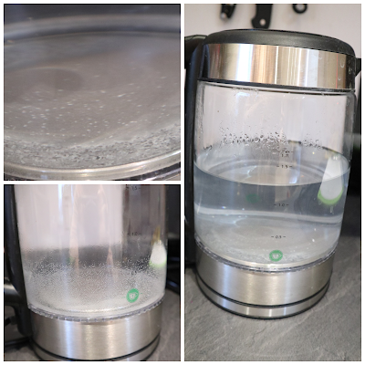 limescale in kettle