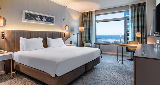 Habitacion King Premium Hilton Diagonal Mar Barcelona