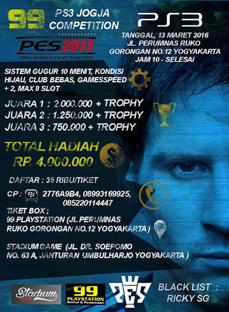 Kompetisi PES 2016 di Yogyakarta Maret 2016