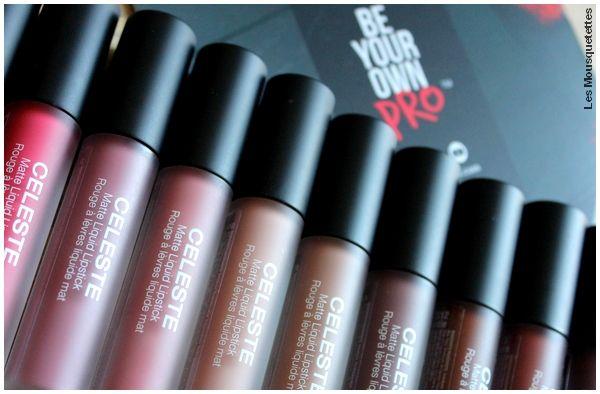 Avis blog - Collection de rouges à lèvres longue tenue et mattes, KISS NY Pro