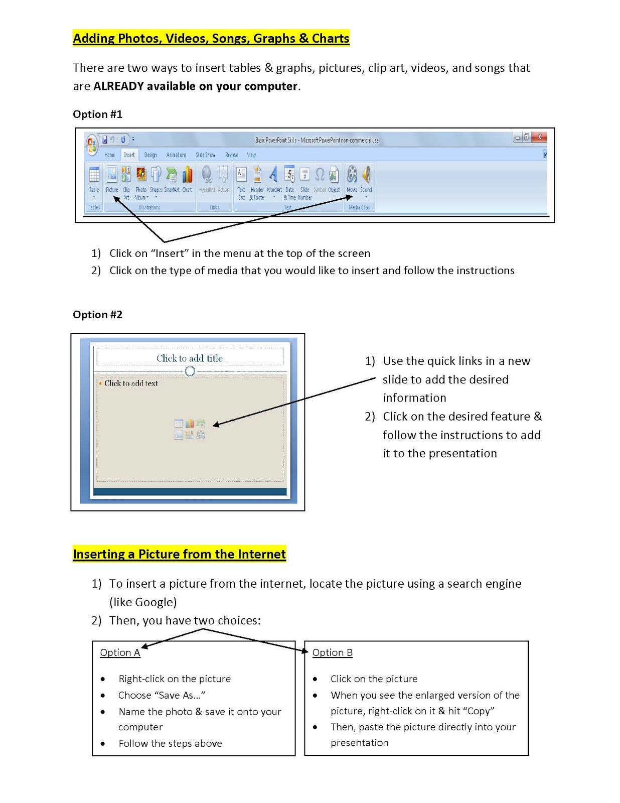 English and ESOL Lab Workshops: Basic PowerPoint Skills (Kristin Krogh)