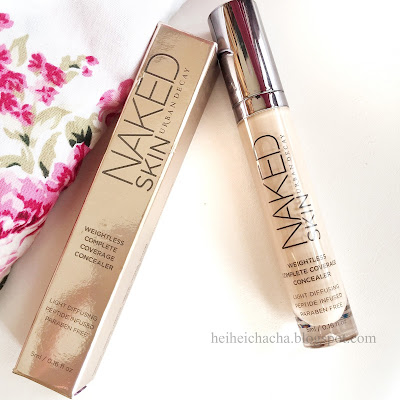 Urban Decay - Naked Skin Weightless Complete Coverage Concealer in Light Neutral | Hei Hei Chacha