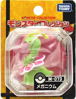 Meganium figure Takara Tomy Monster Collection M series