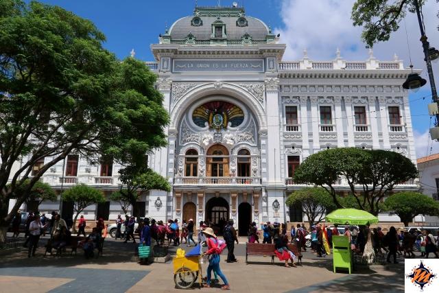 Sucre, sede della Prefettura di Chuquisaca