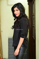 Shruti Haasan Looks Stunning trendy cool in Black relaxed Shirt and Tight Leather Pants ~ .com Exclusive Pics 074.jpg