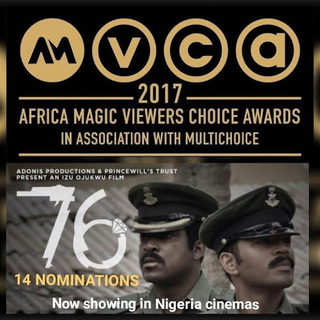 The Movie 76', Sweeps 14 AMVCA Nominations!!!