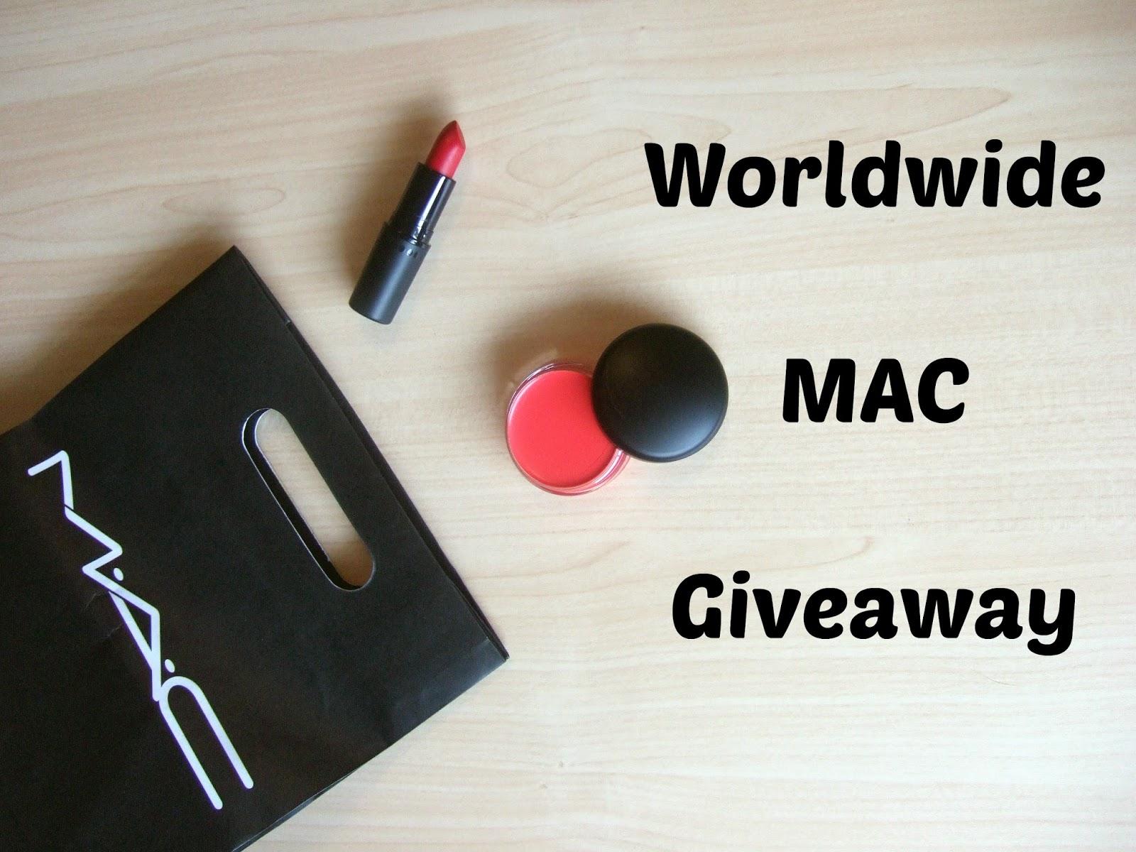 March MAC-ness: Worldwide MAC Giveaway #4