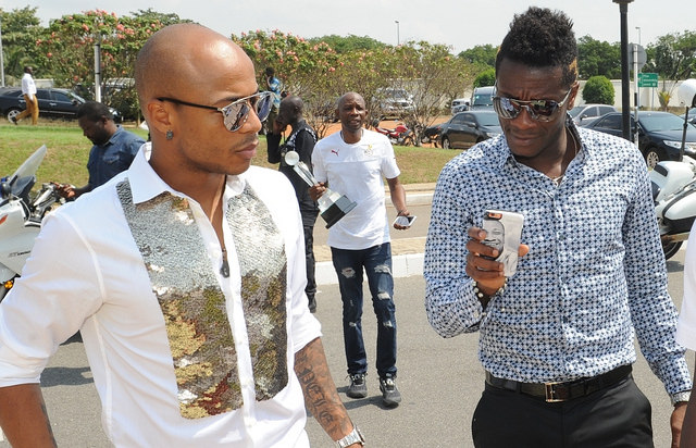 South Africans hail Andre Ayew over Black Stars air ticket gesture