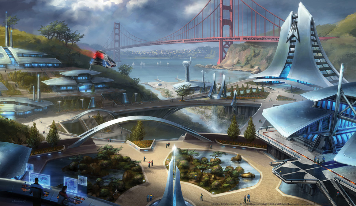 The Trek Collective Star Trek Online Concept Art