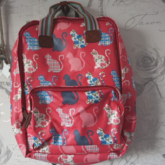 Have Best Cat Print Backpack from TK Maxx