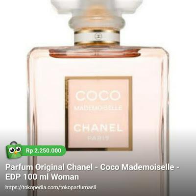 toko parfum asli parfum original chanel coco mademoiselle edp 100ml woman