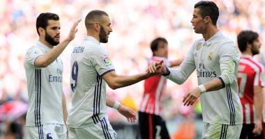 ريال مدريد يتخطى بلباو بهدفين ويحتل المركز الاول فى ترتيب الدوري الاسباني برصيد خمسة وستين نقطة