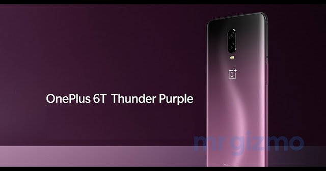 Thunder purple variant of OnePlus 6T was detected, may be launched on November 30