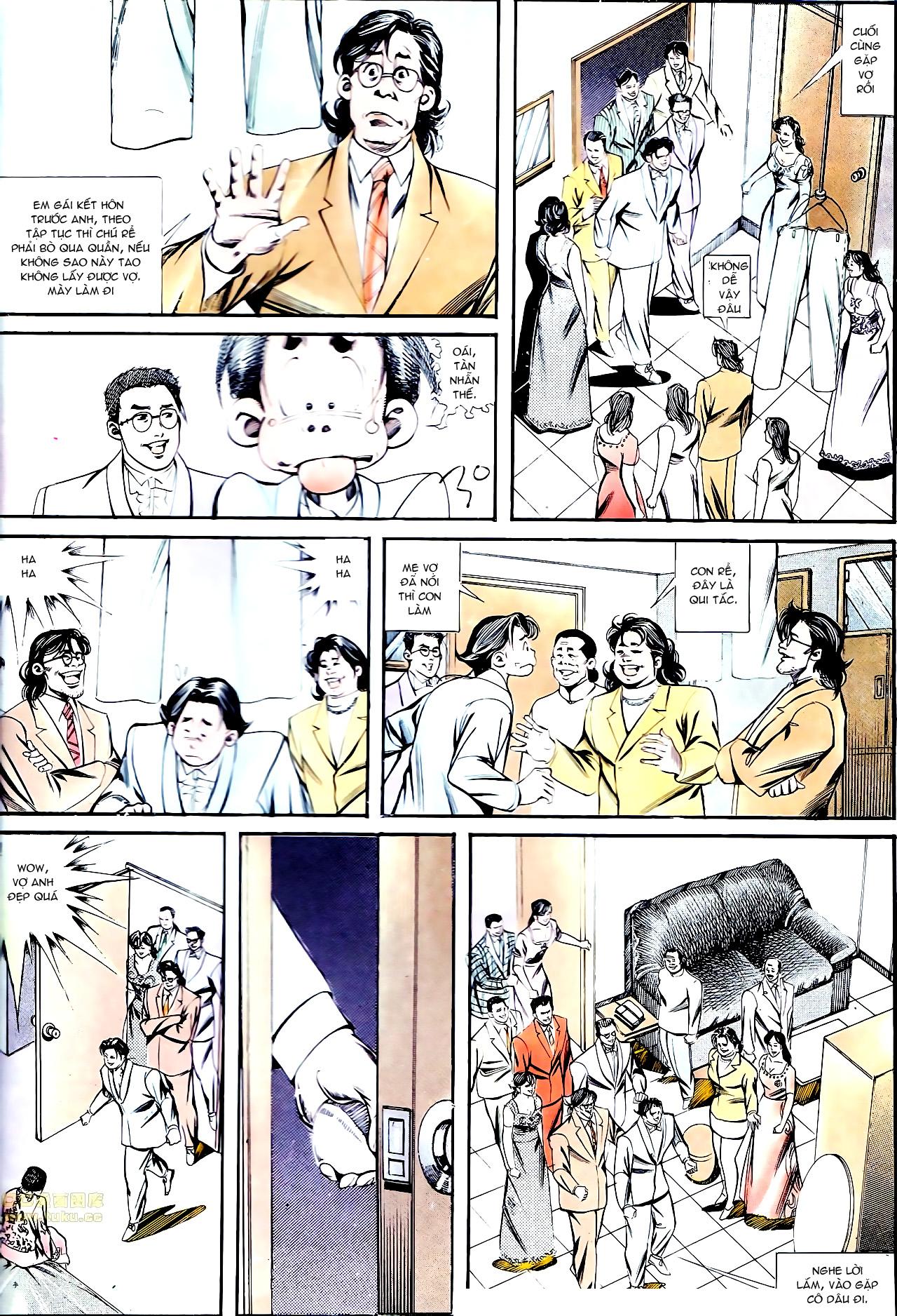 Người Trong Giang Hồ chapter 137: yêu nhất là ai trang 35