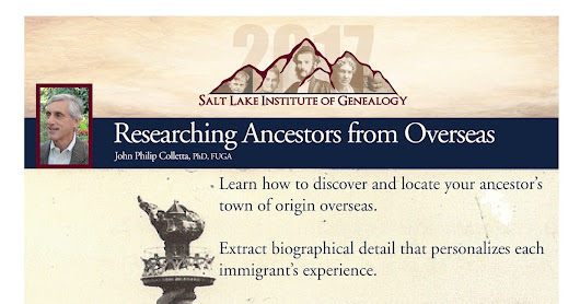 Utah Genealogical Association: Looking for Immigrant Ancestors?