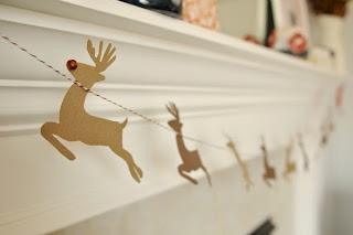 Decoracion de Navidad con Renos, parte 2