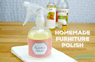 Homemade Furniture Polish