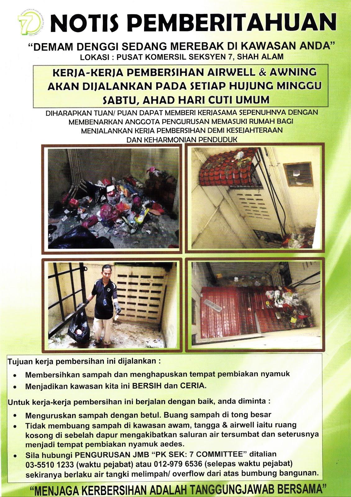 Badan Pengurusan Bersama Jmb Pusat Komersil Yen 7 Shah Alam