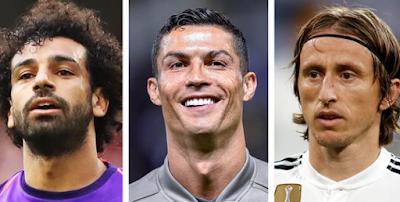 The Best, FIFA, Football, Awards, 2018, men's, Women's Players, coach, goalkeeper, puskas, Fan award, Nominees, finalists & Shortlist