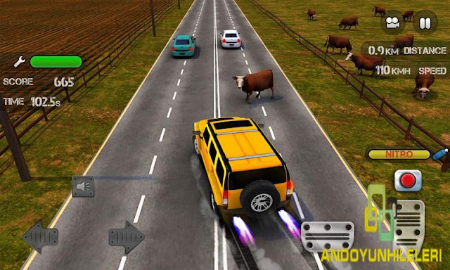 Race the Traffic Nitro v1.2.6 Hileli