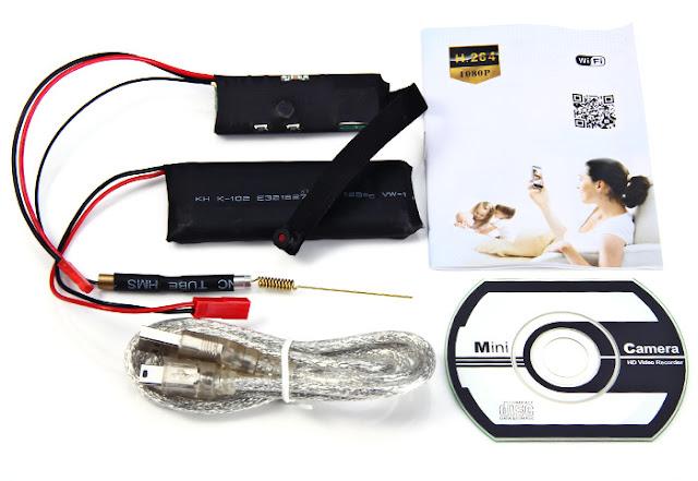 Camera ngụy trang WinTech CAM NUS Độ phân giải 2.0 MP
