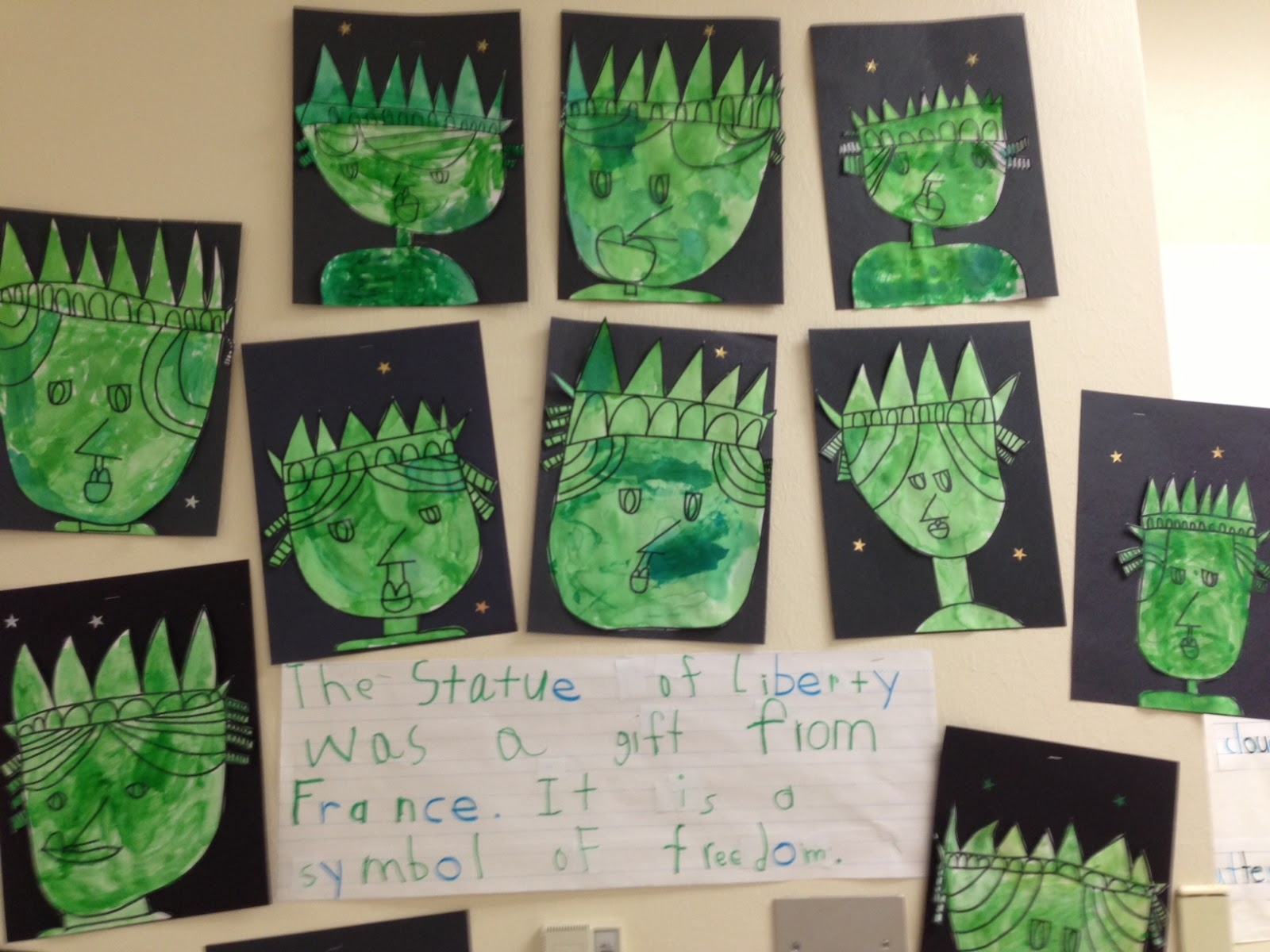 Chalk Talk A Kindergarten Blog The Statue Of Liberty
