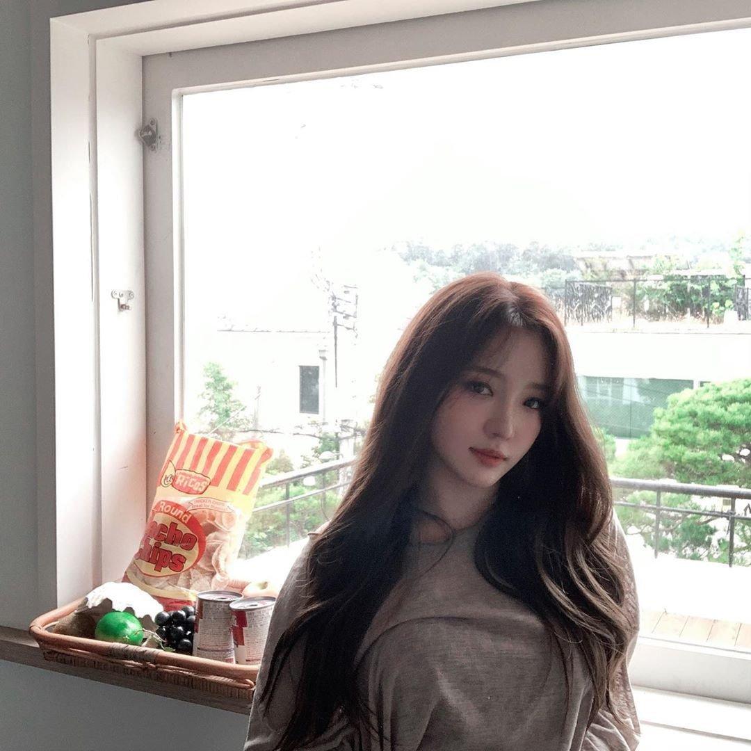 프로미스나인 멤버별 개인 인스타 사진