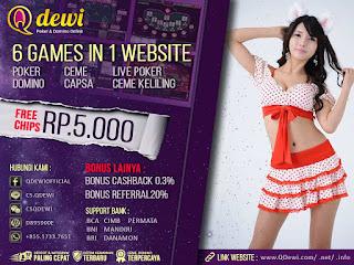 Cara Mendaftar Judi Turnamen Poker Online Server IDN Play QDewi.net