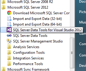 SSDT With Visual Studio 2012 and Using Custom Assemblies
