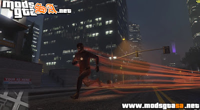 Mod The Flash para GTA V PC