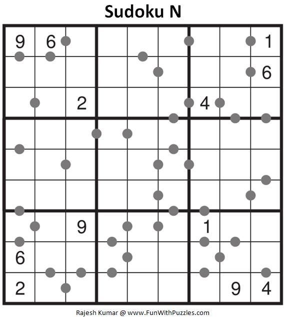 Sudoku N Puzzle (Fun With Sudoku #319)