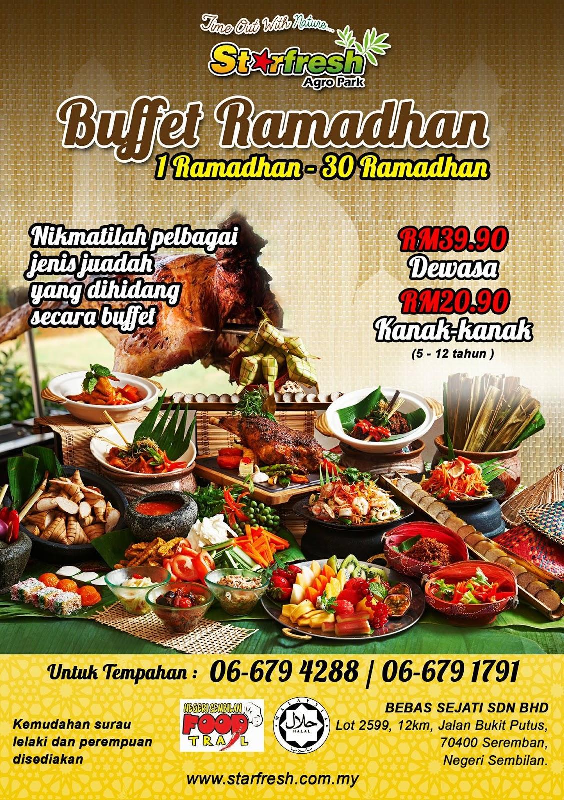 Buffet Ramadhan starftresh agropark Negeri Sembilan 2017