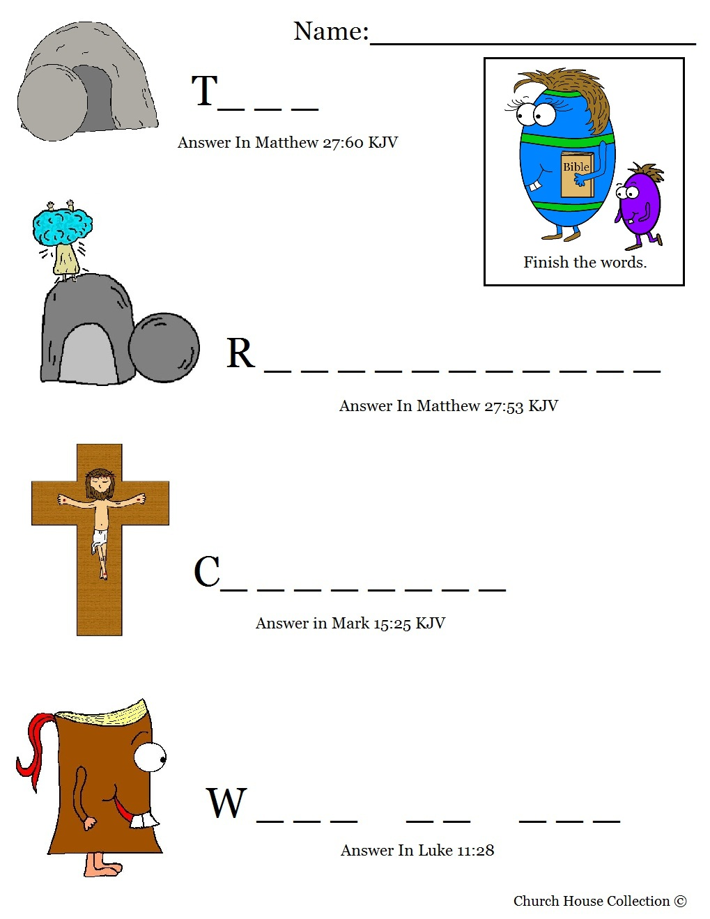 Lucrative image pertaining to sunday school printable worksheets