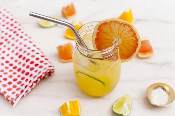 Cách chữa bằng bệnh amidan bằng nước cam và nước