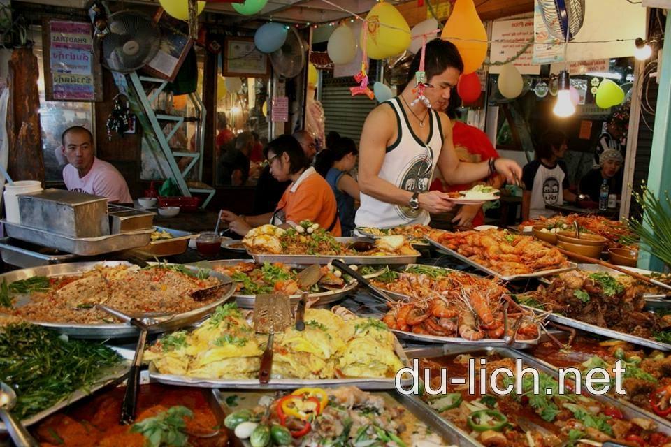 Các khu vực ẩm thực ở thủ đô Bangkok