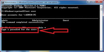 Hack Win 7 Admin Password