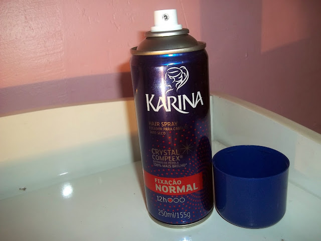 Resenha Hair Spray Karina