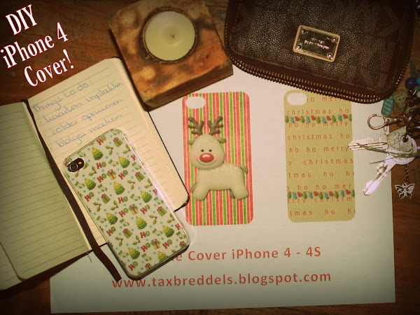 DIY Printable Cover iPhone Holiday's