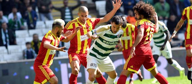 Bursaspor bir puanla yetindi!