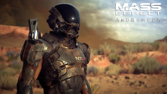 Mass Effect Andromeda main character N7