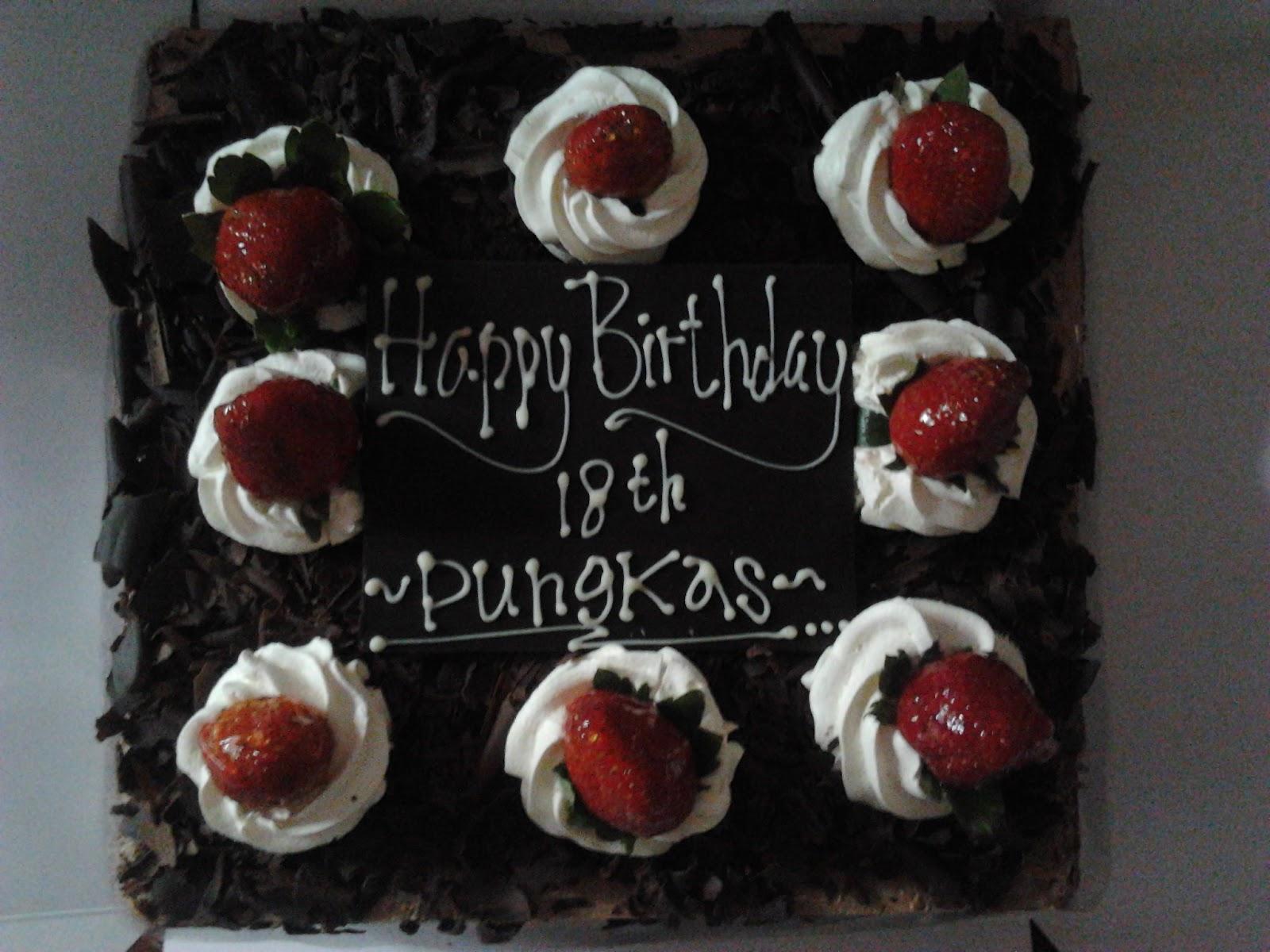 BLACK FOREST BREADTALKBirthday Cake